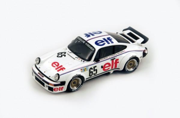 Porsche 934 Wollek/Pironi/Beaumont 24h Le Mans 1976 Spark 1:43