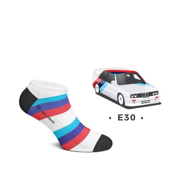 Heel Tread Sneakersocken – E30