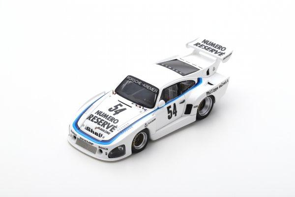 Porsche 935 K3 Klaus Ludwig Zolder 1979 Spark 1:43