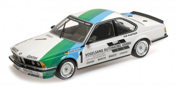 BMW 635 CSi Harald Grohs Zolder Bergischer Löwe 1984 Minichamps 1:18