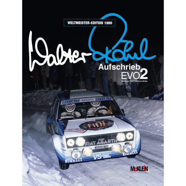 Walter Röhrl – Aufschrieb Evo2 – Weltmeister-Edition 1980 – Cover