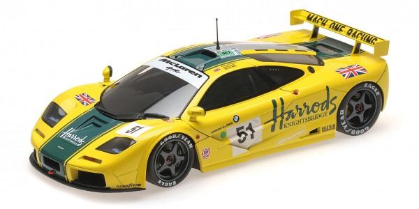 McLaren F1 GTR Bell/Bell/Wallace 24h Le Mans 1995 Minichamps 1:18