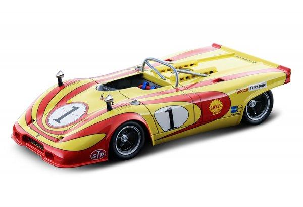 Porsche 917 Spyder Jürgen Neuhaus Interserie Imola 1971 Technomodel 1:18