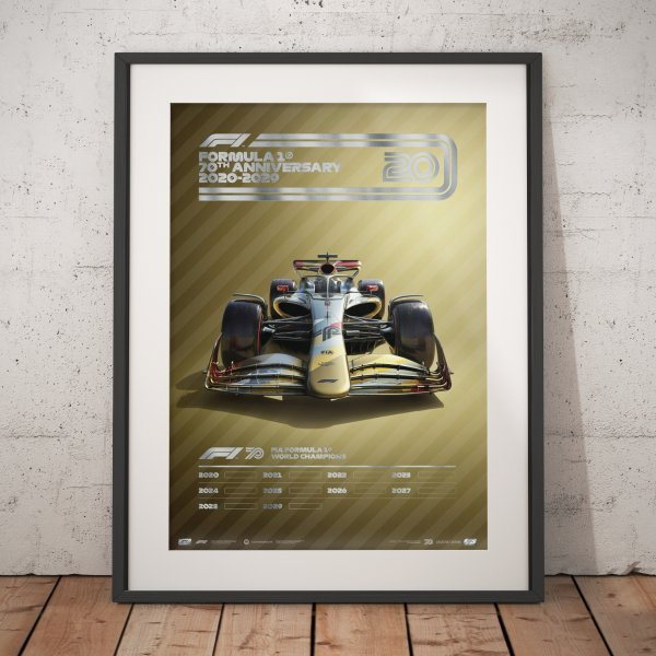 Formula 1® Decades – 2020s The Future Lies Ahead – Poster   Collector's Edition