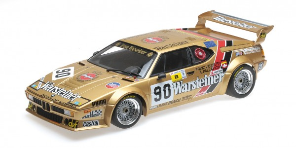 BMW M1 Gr. B Pallavicini/von Bayern/Winther 24h Le Mans 1983 Minichamps 1:12