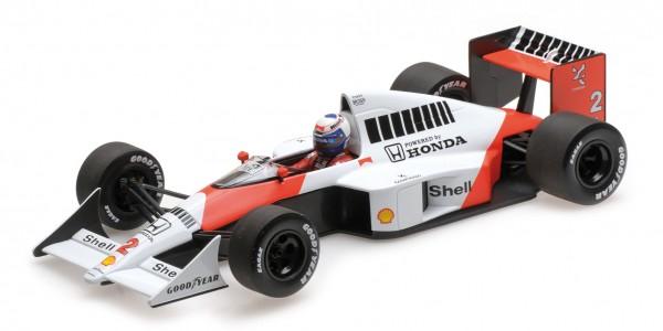McLaren MP4/5 Alain Prost F1 1989 Minichamps 1:18
