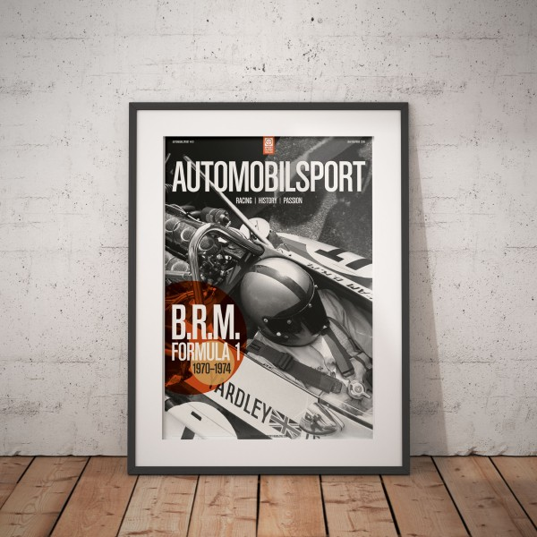 Poster AUTOMOBILSPORT #19 (2 sided) – BRM P153
