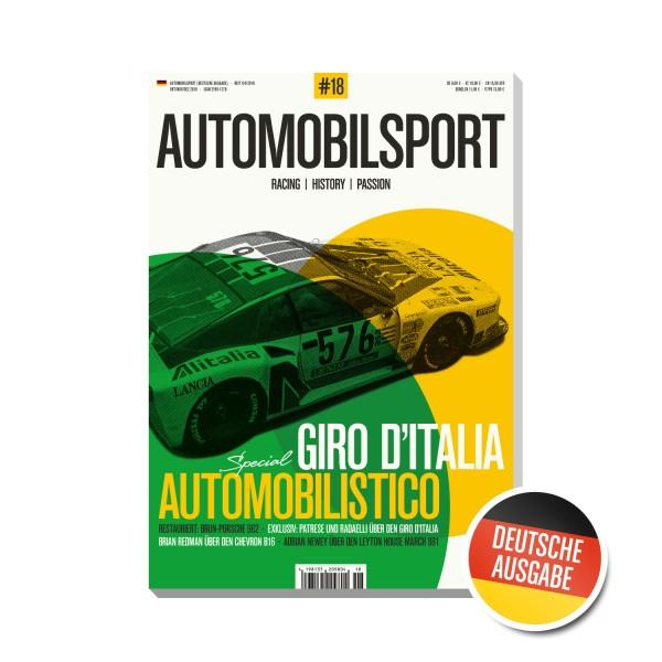 AUTOMOBILSPORT #18 (04/2018) – Deutsche Ausgabe