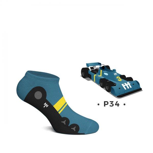 Heel Tread Sneakersocken – P34