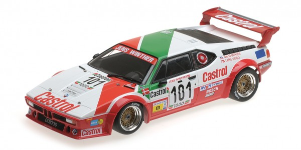 BMW M1 Winther/Mercer/Jensen 24h Le Mans 1984 Minichamps 1:18
