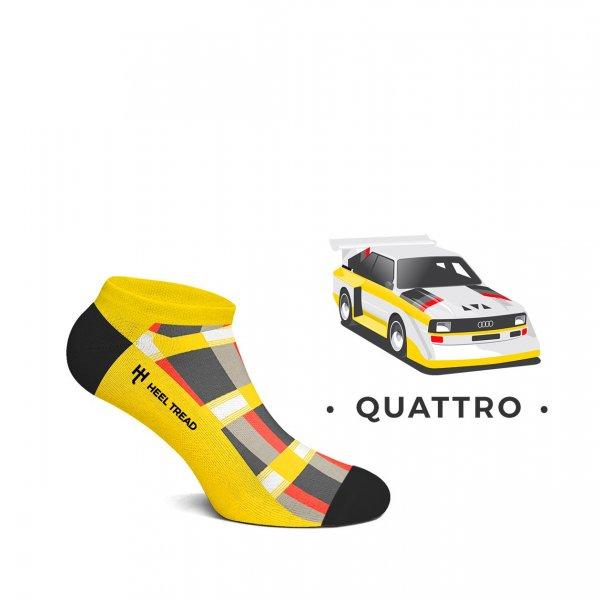 Heel Tread Sneakersocken – Quattro