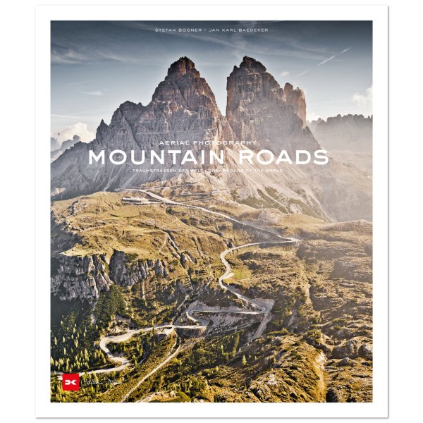 Mountain Roads – Aerial Photography. Traumstraßen der Welt / Dreamroads of the world – Cover