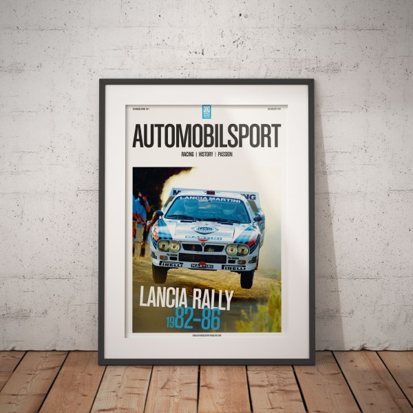 Poster AUTOMOBILSPORT #21 (2 sided) – Lancia 037 Rally