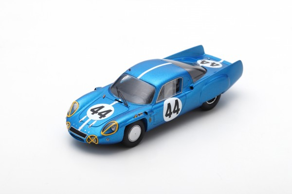 Alpine A210 Cheinisse/de Lageneste 24h Le Mans 1966 Spark 1:43