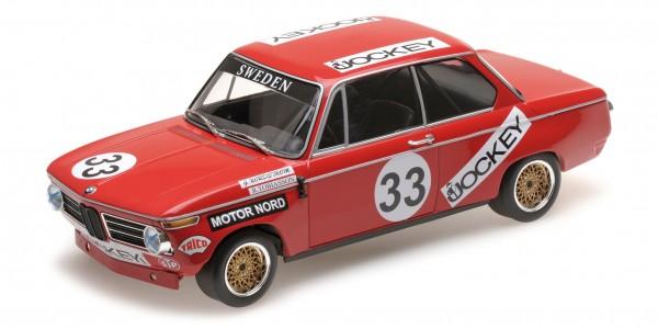BMW 2002 – Tobiasson/Nordström – Nürburgring 6h 1972