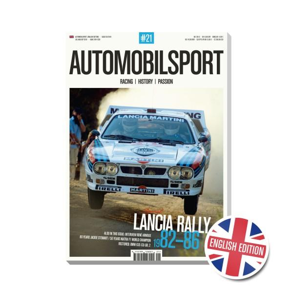 AUTOMOBILSPORT #21 (03/2019) – Englische Ausgabe