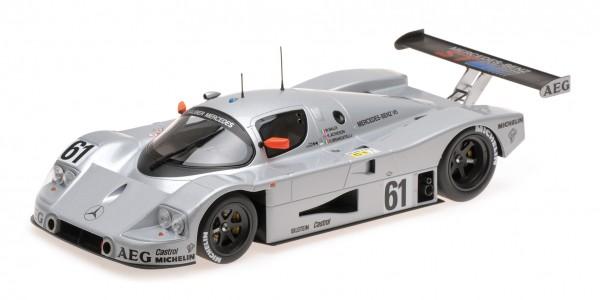 Sauber-Mercedes C9 – Baldi/Acheson/Brancatelli – Le Mans 24h 1989 – 2nd