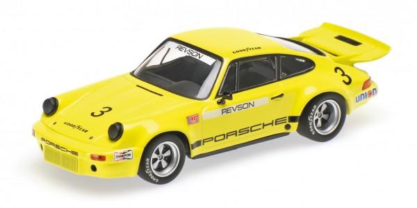 Porsche 911 RSR 2.8 I.R.O.C. Peter Revson Riverside IROC 1973 Minichamps 1:43