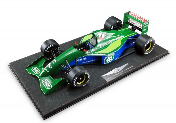 Jordan 191 Michael Schumacher Belgian GP 1991 Formula 1 debut Real Art Replicas 1:8