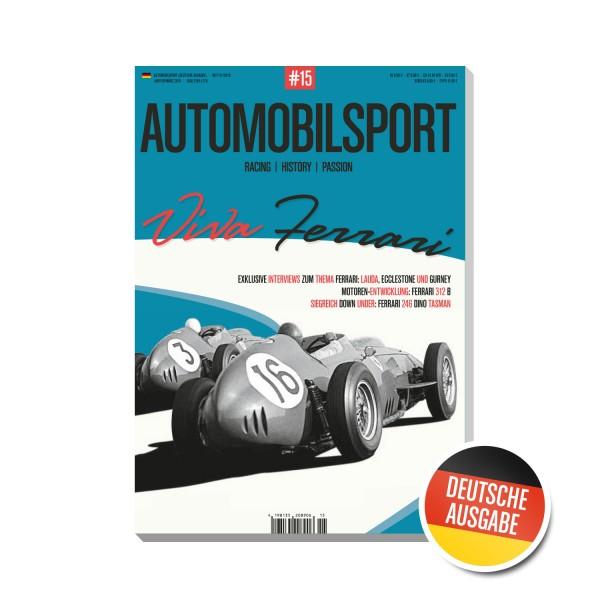 AUTOMOBILSPORT #15 (01/2018) – Deutsche Ausgabe