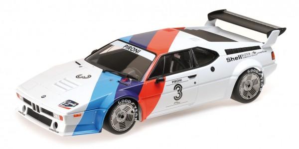BMW M1 Procar Didier Pironi Procar Series 1979 Minichamps 1:12