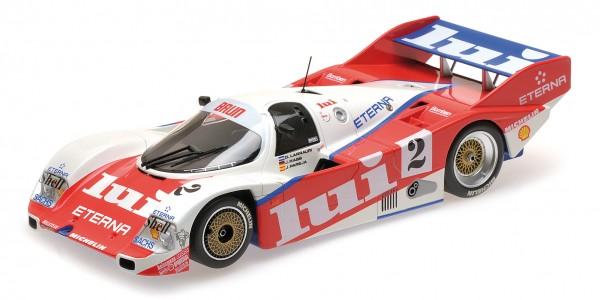 Porsche 962C Mass/Larrauri 1000km Nürburgring 1987 Minichamps 1:18