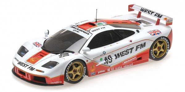 McLaren F1 GTR Nielsen/Mass/Bscher 24h Le Mans 1995 Minichamps 1:18