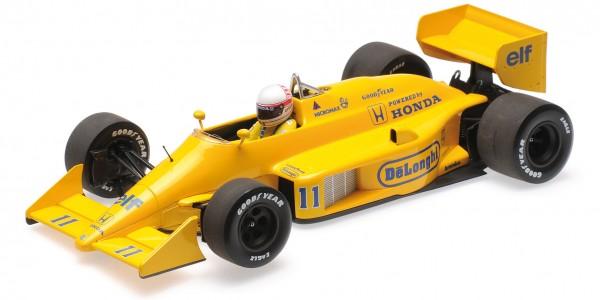 Lotus 99T Saturo Nakajima Monaco GP 1987 Minichamps 1:18