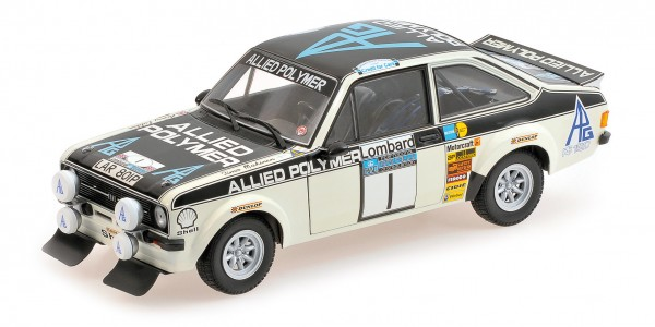 Ford Escort RS 1800 Mäkinen/Liddon Lombard RAC Rally 1975 Minichamps 1:18