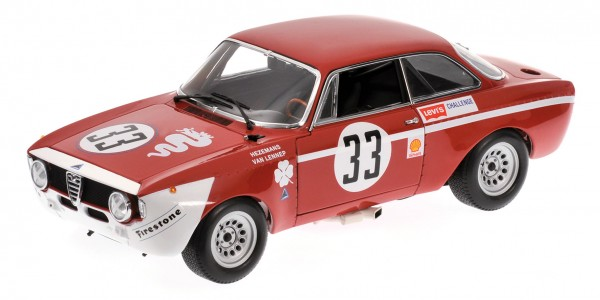 Alfa Romeo GTA 1300 Junior Hezemans/van Lennep Jarama 1972 Minichamps 1:18