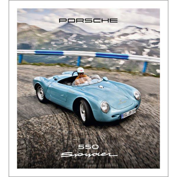 Porsche 550 Spyder – Cover