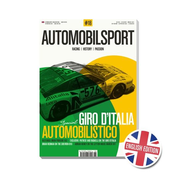 AUTOMOBILSPORT #18 (04/2018) – Englische Ausgabe