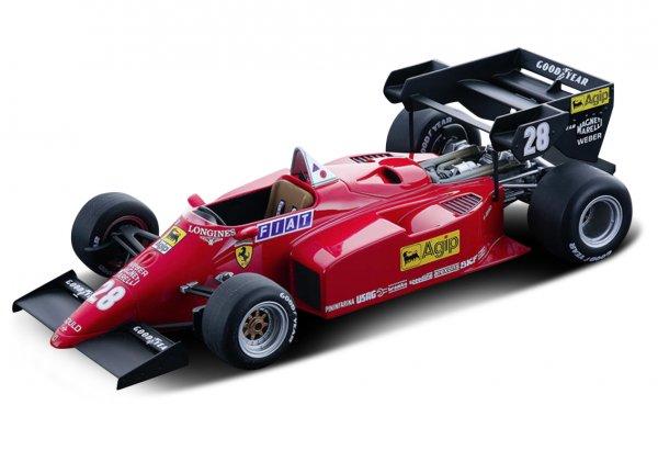 Ferrari 126 C4-M2 – René Arnoux – European GP 1984