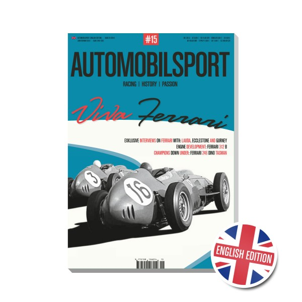 AUTOMOBILSPORT #15 (01/2018) – Englische Ausgabe