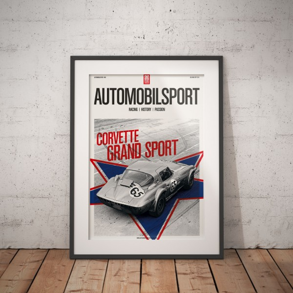 Poster AUTOMOBILSPORT #09 (2 sided) – Corvette Grand Sport