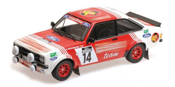 Ford Escort RS 1800 Droogmans/Joosten Lotto Haspengouwrally 1983 Minichamps 1:18