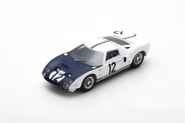 Ford GT40 Schlesser/Attwood 24h Le Mans 1964 Spark 1:43