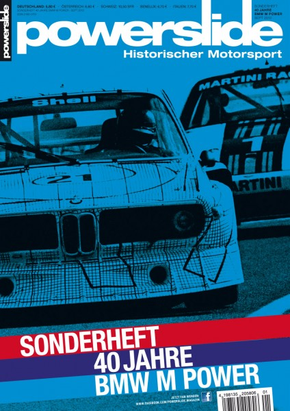 powerslide Sonderheft – 40 Jahre BMW M Power