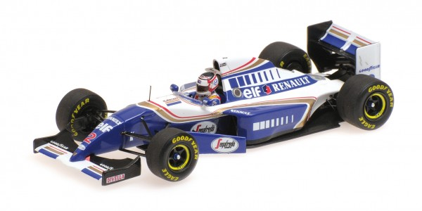 Williams FW16 Nigel Mansell French GP F1 comeback Minichamps 1:43