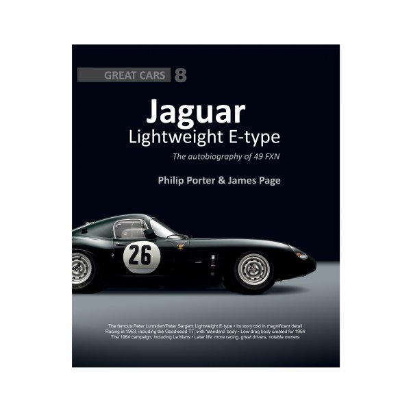 Jaguar Lightweight E-type – The autobiography of 49 FXN