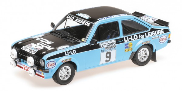 Ford Escort RS 1800 Clark/Wilson RAC Rally 1978 Minichamps 1:18