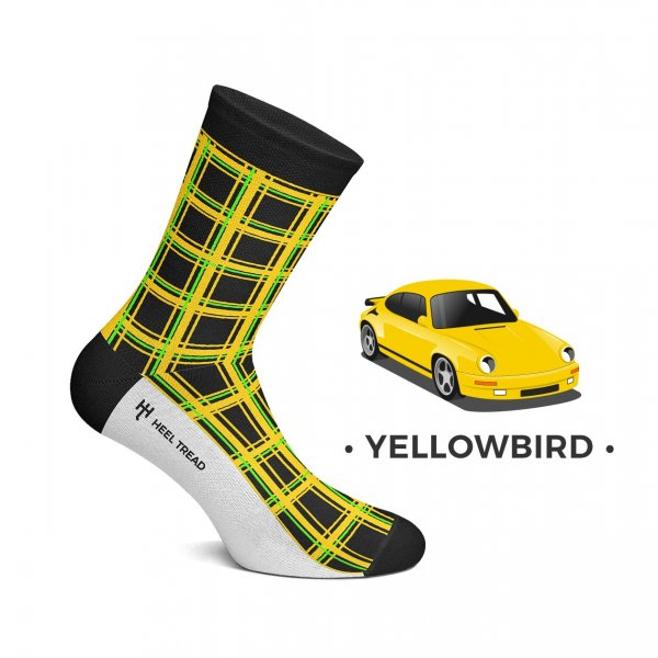 Heel Tread Socken – Yellowbird