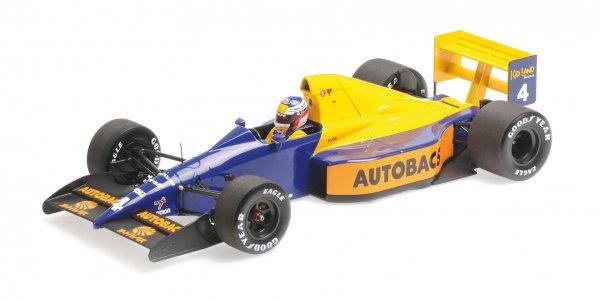 Tyrrell 018 Jean Alesi Japanese GP 1989 Minichamps 1:18