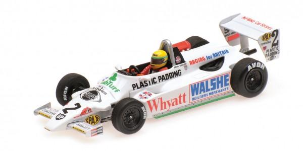 Ralt RT3 Ayrton Senna F3 Silverstone Sep. 1982 Testing Minichamps 1:43