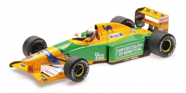 Benetton B192 Martin Brundle British GP 1992 Minichamps 1:18