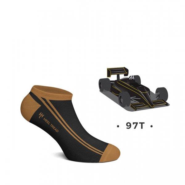 Heel Tread Sneakersocken – 97T