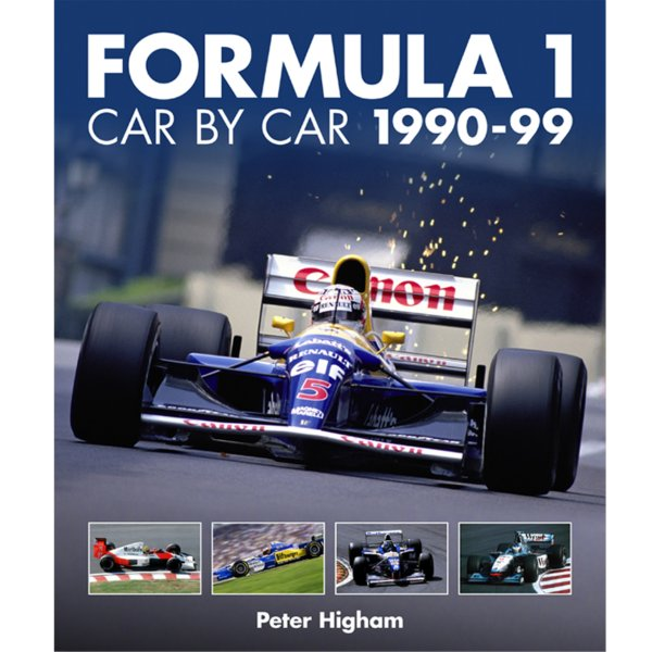 Formula 1: Car by Car 1990–99 – Cover