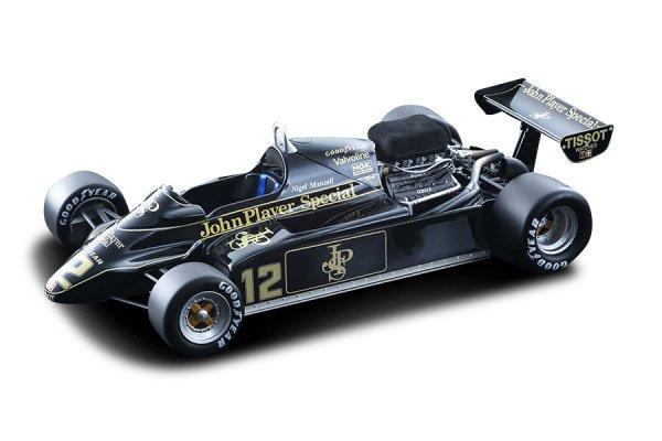 Lotus 91 Nigel Mansell F1 GP Monaco 1982 Tecnomodel 1:18