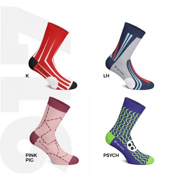Heel Tread socks – 917 Pack – Racing Legends
