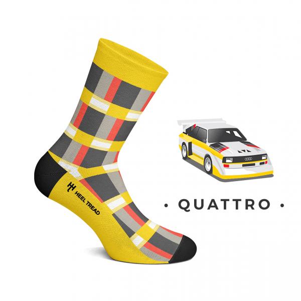 Heel Tread Socken – Quattro